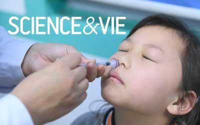 Vaccin et Covid-19 : et si la solution venait d'un spray nasal ?